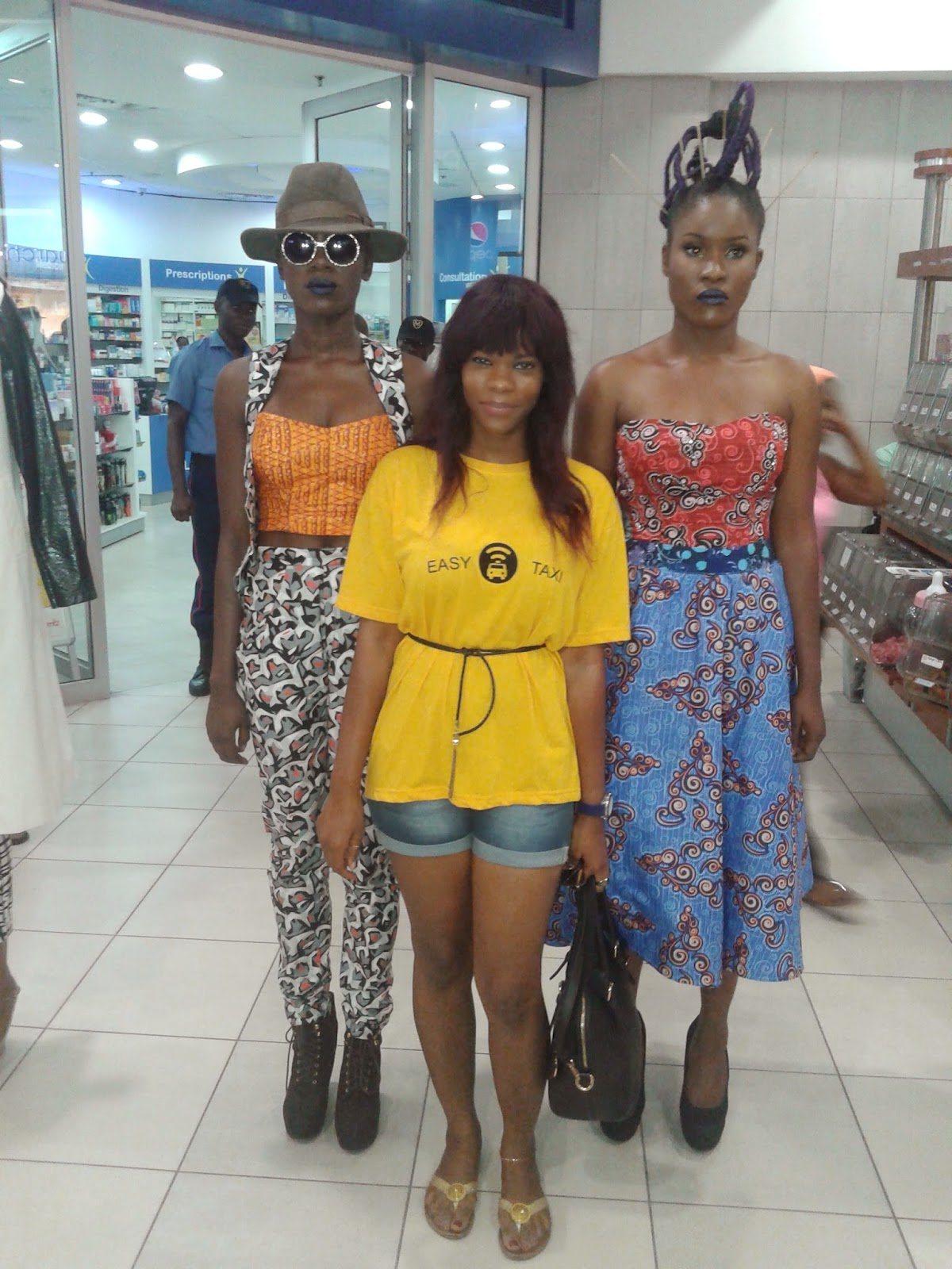 Photos Fashion Innovative Designs Glamour As Easy Taxi Nigeria Supports African Fashion Week