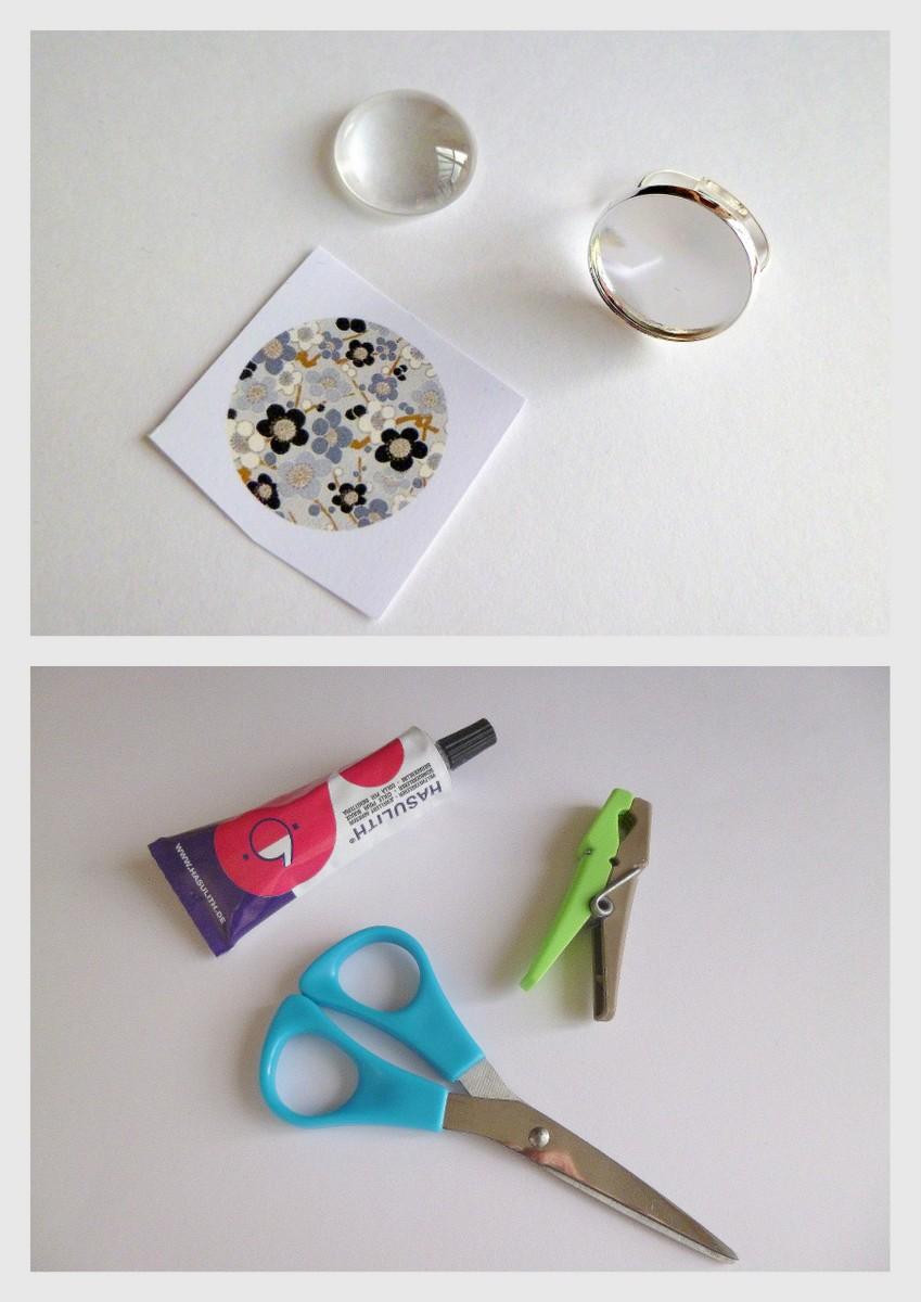 materiel pour bijoux cabochon