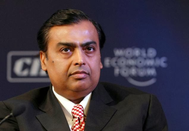 Mukesh Ambani richest Indian but global rank tumbles to 40'
