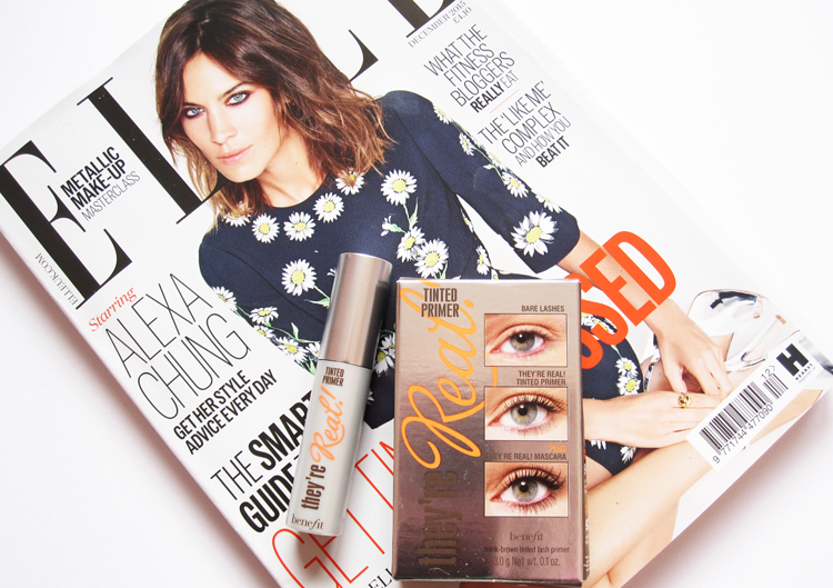 UK Magazine Freebies Elle with Benefit  December 2015