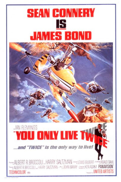 Poster Of James Bond You Only Live Twice 1967 720p Hindi BRRip Dual Audio