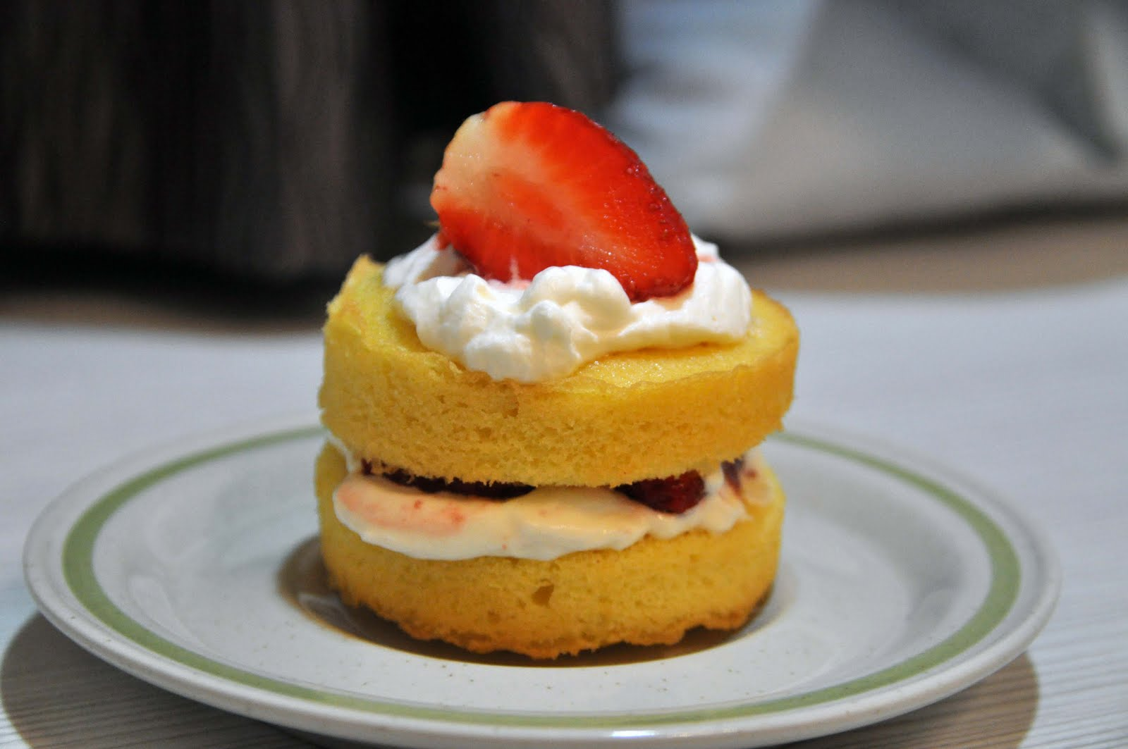 Thoughts : Anatomy of the Mind: .: Recipe : Simple Strawberry Sponge ...