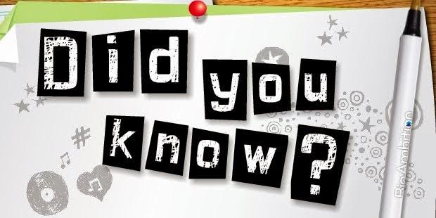 Tahukah kamu?