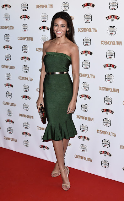 Actress, Model, @ Michelle Keegan - Cosmopolitan Ultimate Women of the Year Awards in London