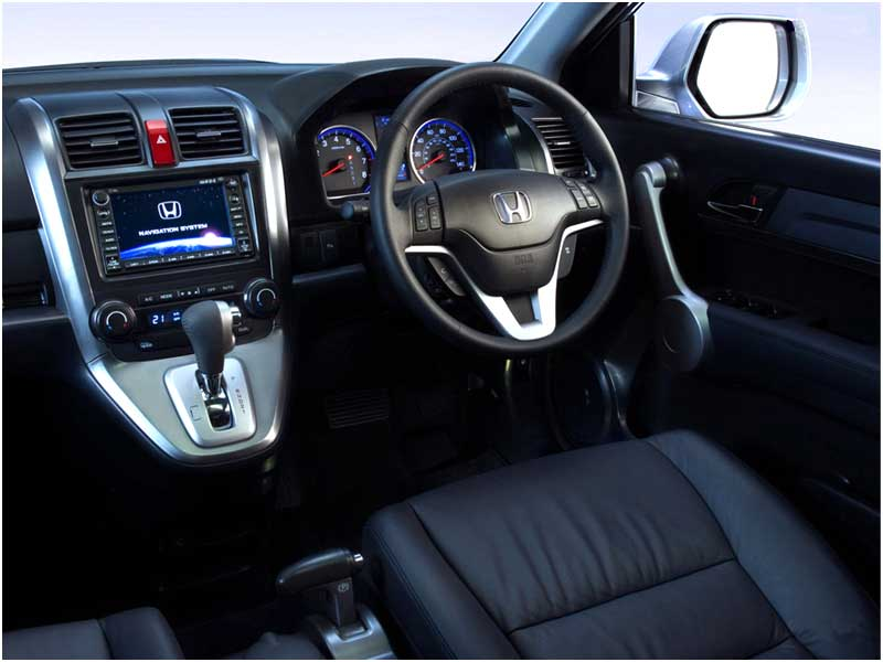 Honda bikes and cars honda crv for Interior honda crv