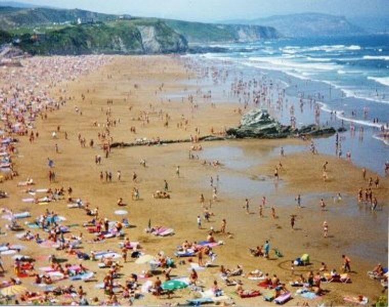 Fotos antiguas de la playa de Sopelana