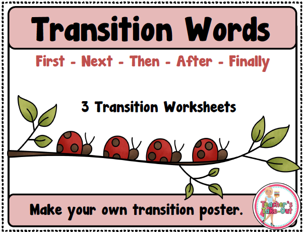 Free Transition Words
