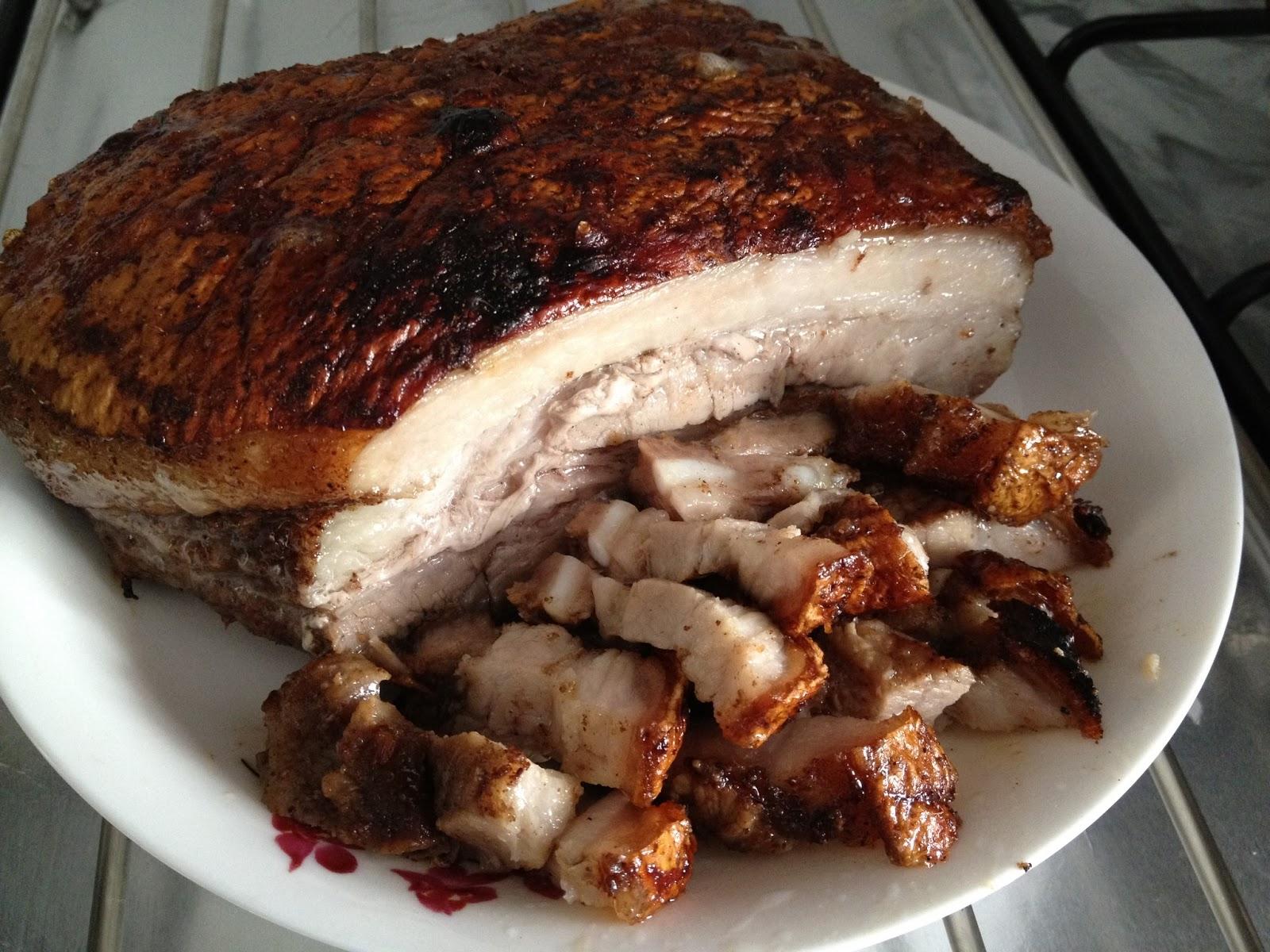 how to make crispy roast pork