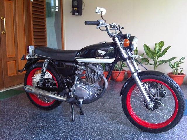 Modifikasi Motor Honda GL 100 Jadi CB 100
