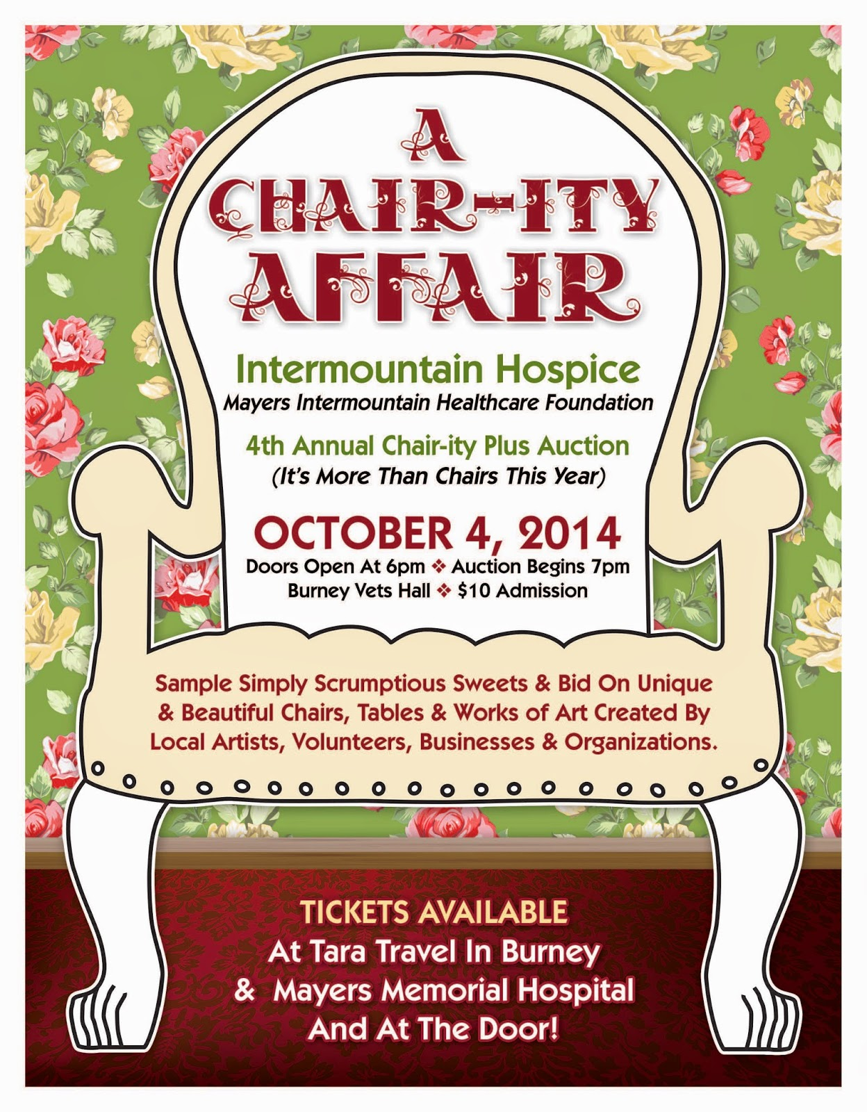 Always Caring Always Here Chair Ity Plus Fundraiser