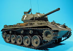 Brett builds & back-dates the Vietnam Chaffee from Bronco
