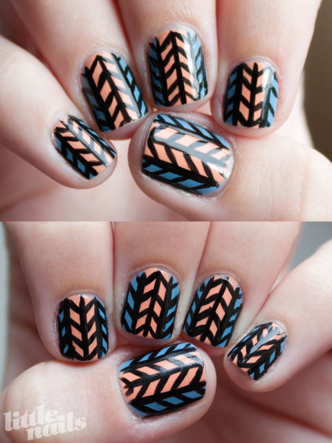 blue-orange-arrows-little-nails