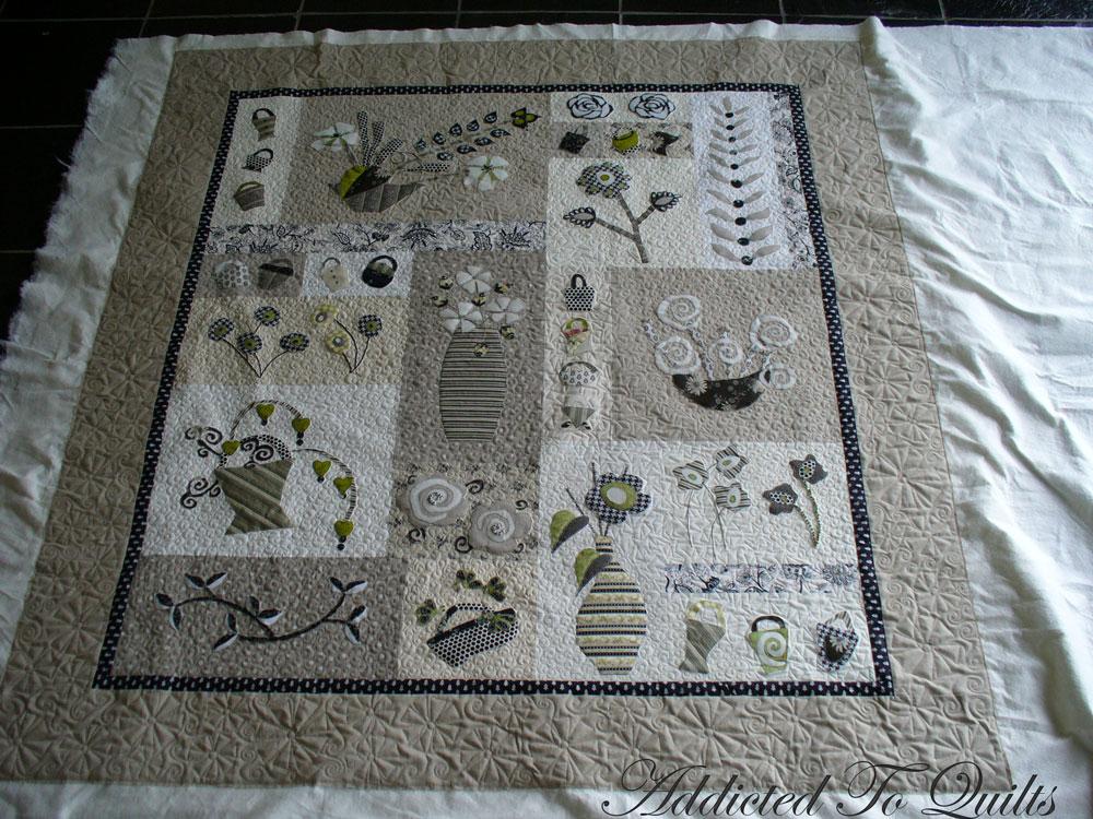 addicted to quilts modern appliqu. Black Bedroom Furniture Sets. Home Design Ideas