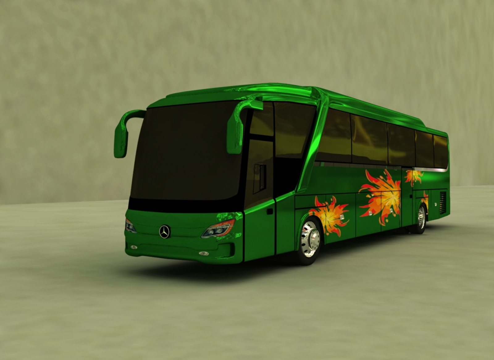 Design 3D Beat Bus