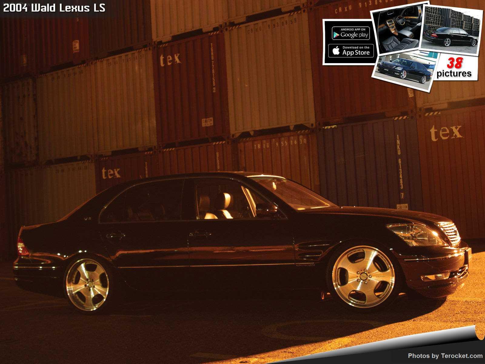 Hình ảnh xe độ Wald Lexus LS 2004 & nội ngoại thất