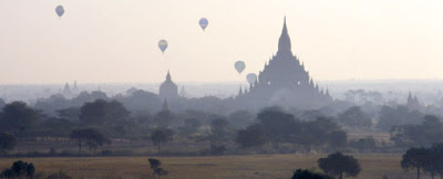 Bagan Myanmar and temples