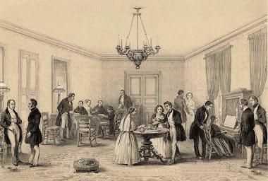 Los salones literarios en el Siglo XIX