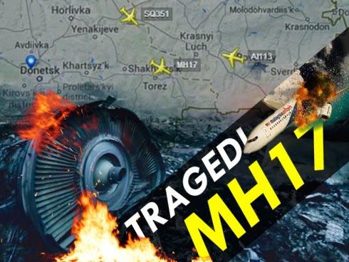 MH17 Topeng Oksigen Masih Di Mayat Ketika Dijumpai