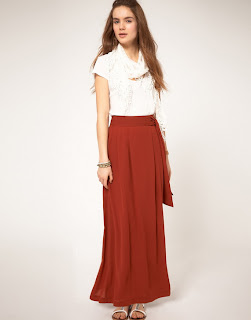Maxi Skirt Trends for Spring 2013