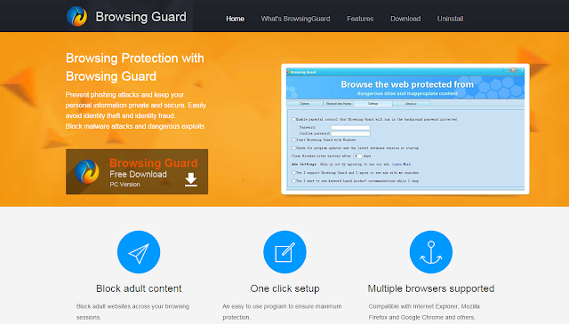 Browsing Guard - Adware