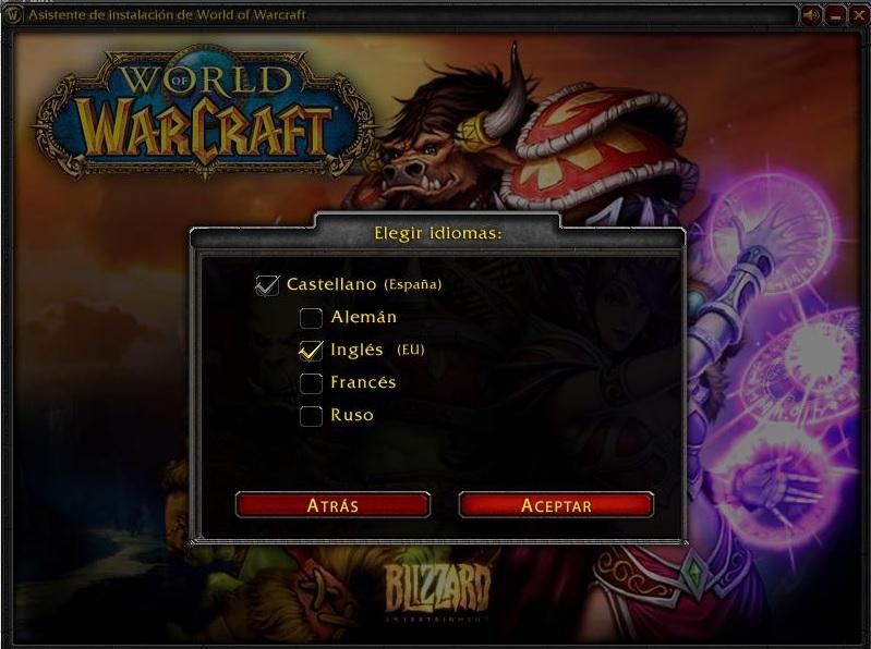 World of Warcraft: Cataclysm Version: 4.3.4 (build 15595) Language: English