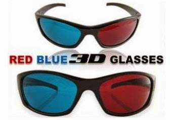Buy Plastic 3D Glasses worth Rs.499 for Rs.133 at Shopclues : BuyToEarn