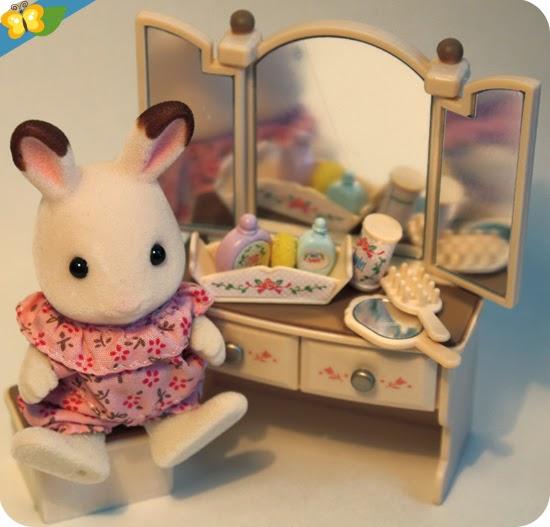 Sylvanian Families : Le set chambre jeune fille - Sister's bedroom Set