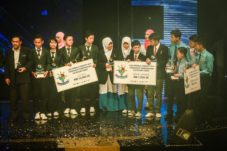 Pemenang Liga Remaja Kreatif 2014