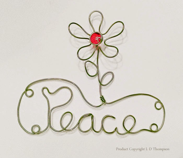 Peace Wire Art