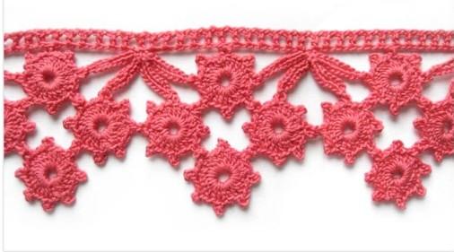 Mes favoris tricot crochet 11 bordures au crochet - Bordure de finition au crochet ...