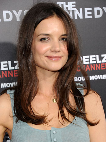 katie holmes hair images