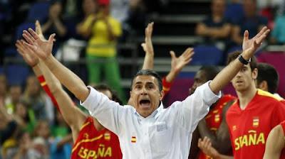 BALONCESTO-Scariolo deja la selección española