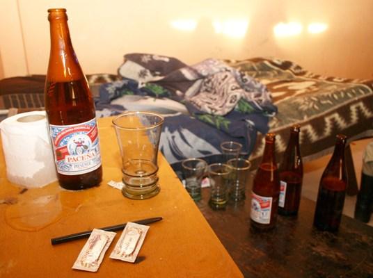 El alcohol en El Alto