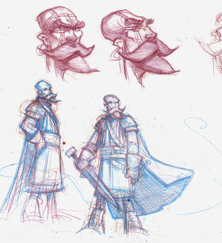 Grimm Concept design © 2012 Jeff Lafferty