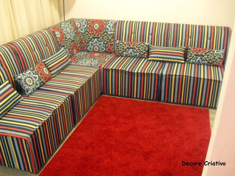 Decore criativo: futon