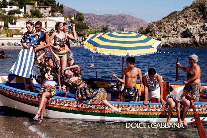 Dolce&Gabbana primavera verano 2013