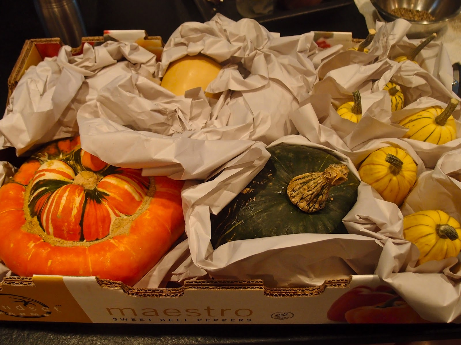 Storing Winter Squash #CB3C00