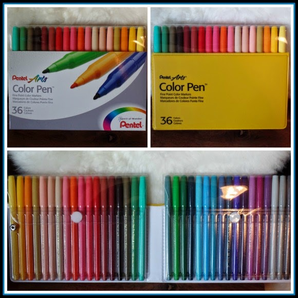While I Was Ordering My Gel Pens Decided To Buy A Pack Of Most Favorite Felt Tip As Well Given Set Pentel
