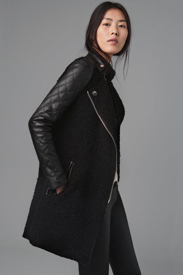 Manteau bomber femme zara