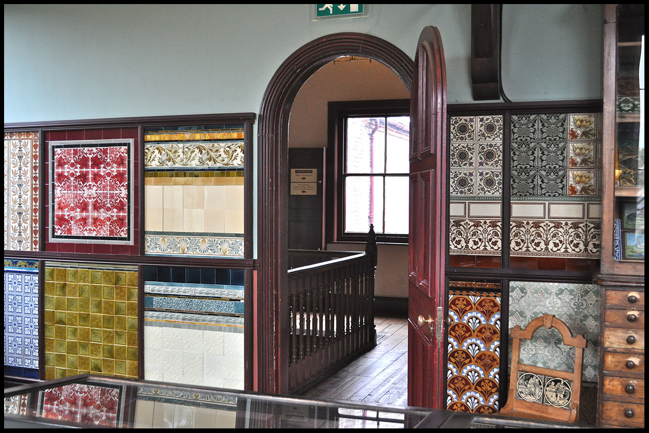 Phil Beard: Jackfield Tile Museum
