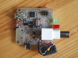 Gerador de funções USB com AVR