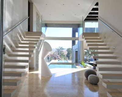 Floating staircase design modern home furniture design 2013