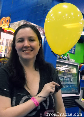 Yellow Balloon and Tracie