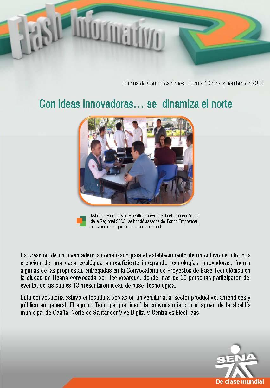 Regional norte de santander con ideas innovadoras se for Oficina de correos santander