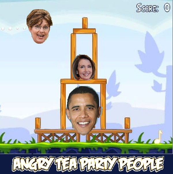 angry tea party game