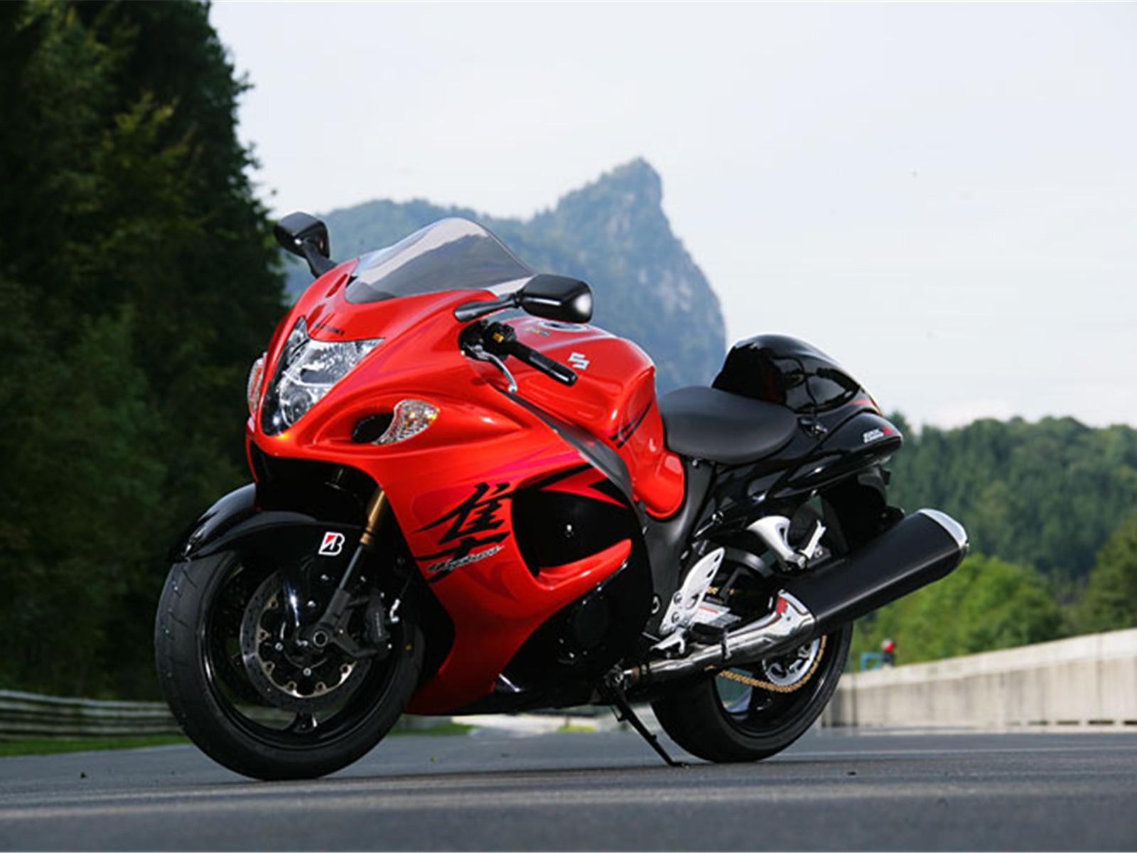 Suzuki hayabusa fastest bike in the world