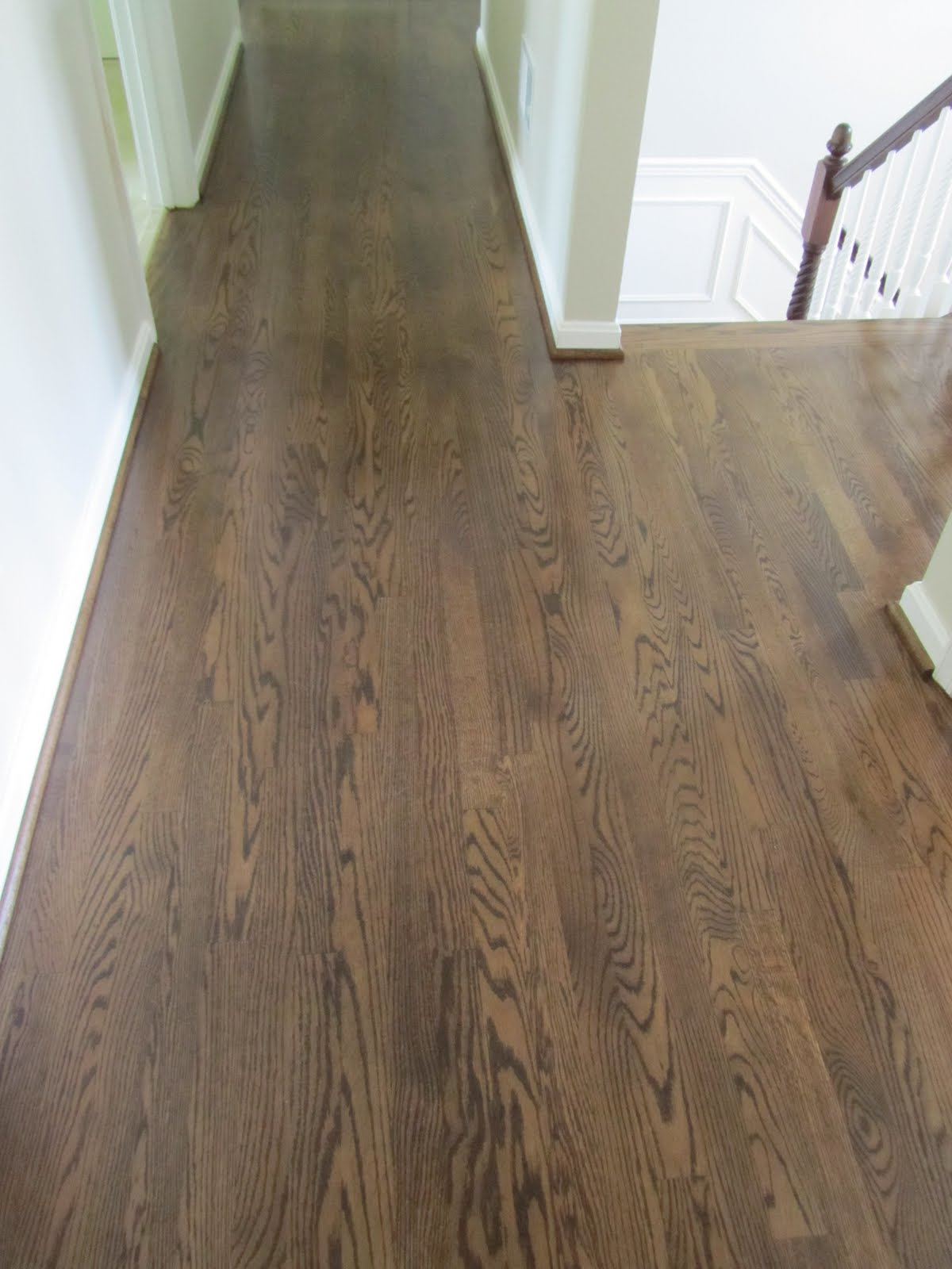 new floor in the upstairs hallway smooth as silk but i am going to add a gorgeous runner that my husband brought home from his travels
