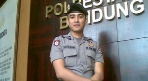 Profil Biodata Foto Bripda Saiful Bahri Polisi Ganteng