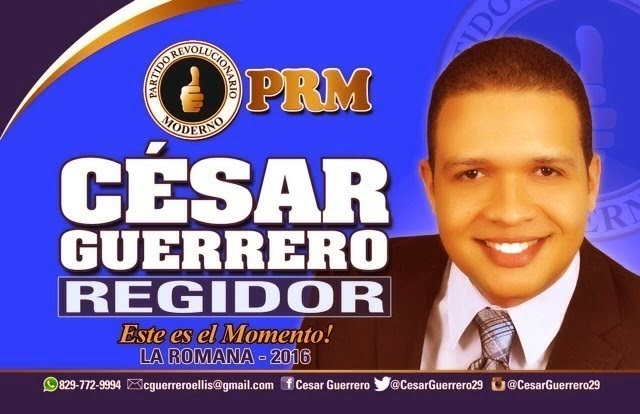 César Guerrero, regidor!