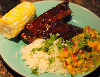 Ted Interprets Mango Cucumber Salsa Recipe - Smoke Rise Inn's Chef George Summer Recipes